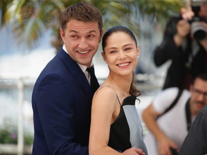 Владимир Вдовиченков с женой Еленой Лядовой