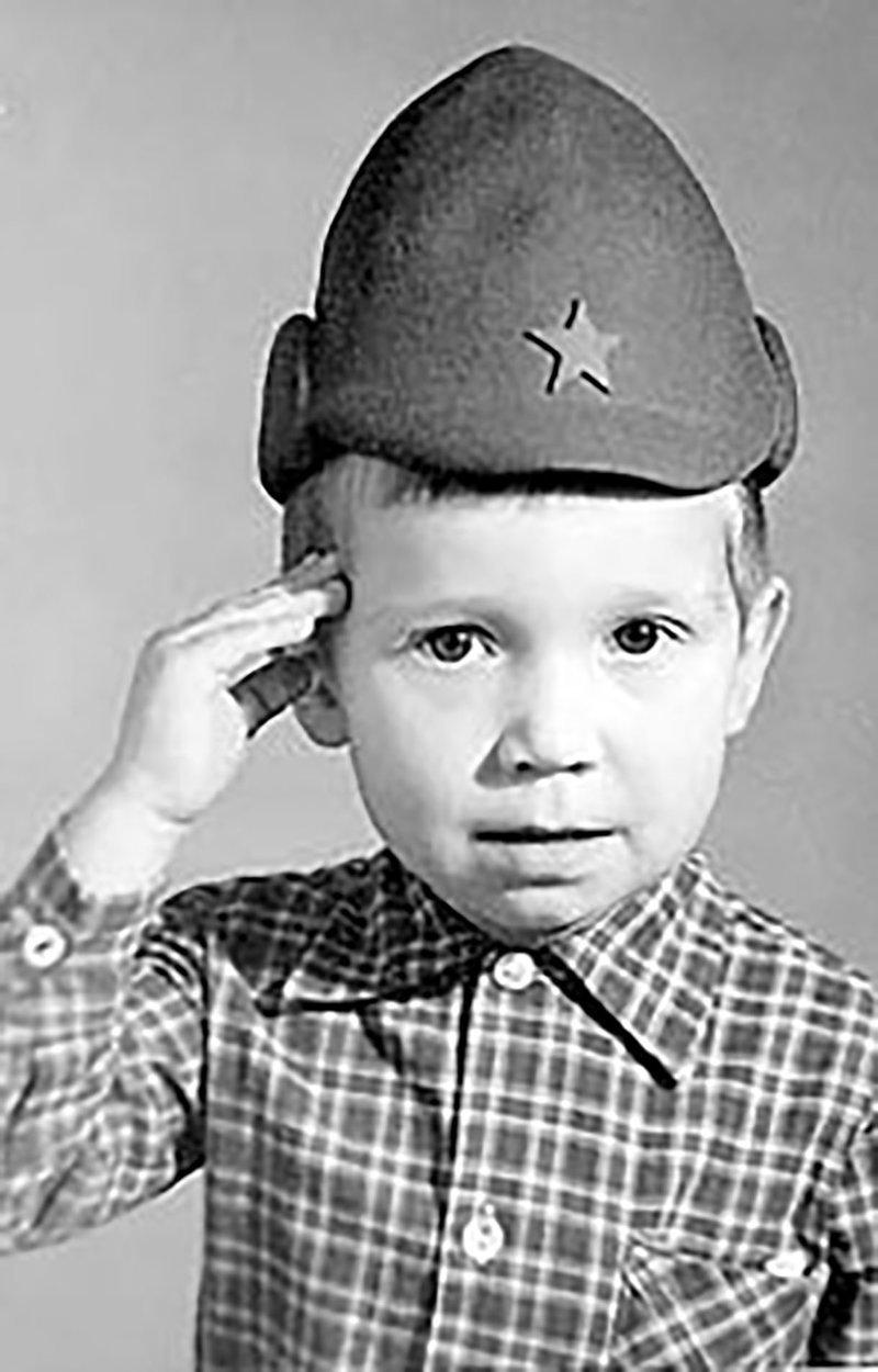 Алексей Кравченко в детстве