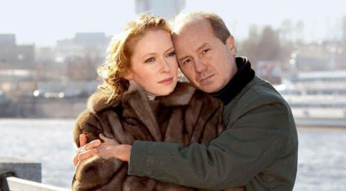 Наталья Рогожкина с мужем Андреем Паниным
