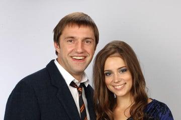 Владимир Вдовиченков и Анна Конева