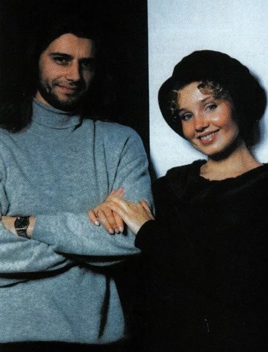 Ирина Климова с Валерием Боровинским
