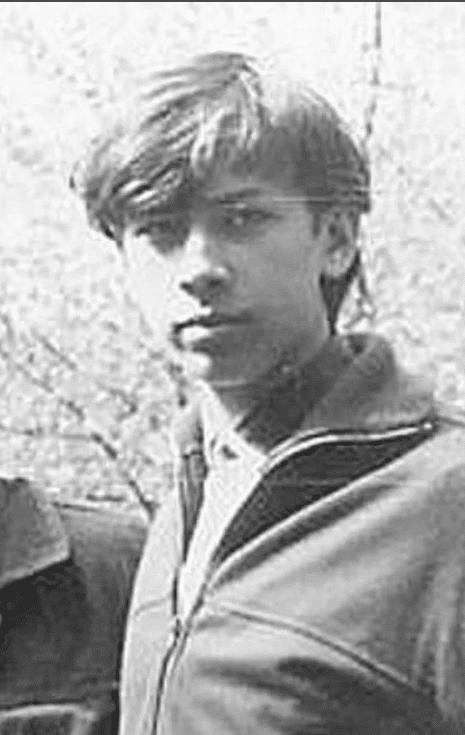 Андрей Мерзликин в юности