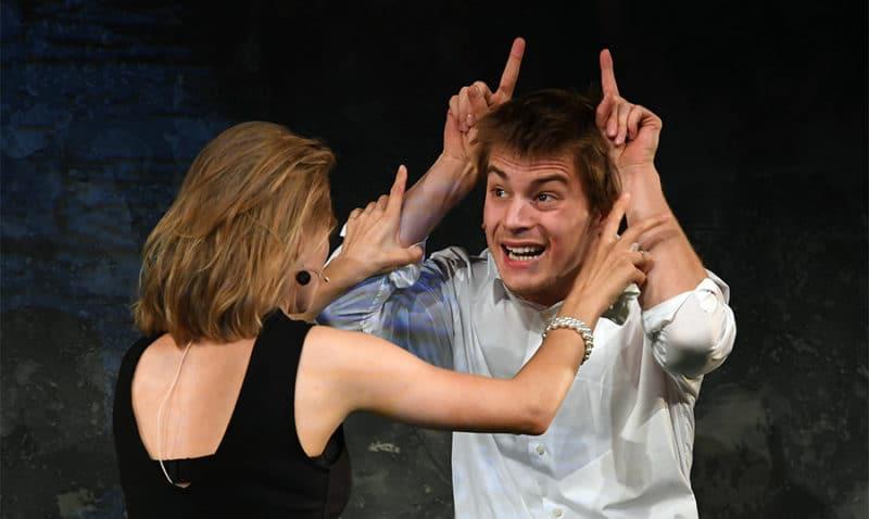 Иван Янковский в театре