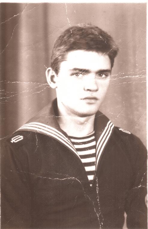 Игорь Лифанов в юности