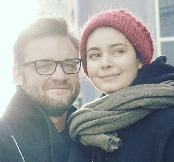 Мария Казакова с мужем