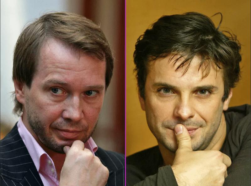 Сергей Астахов и Евгений Миронов