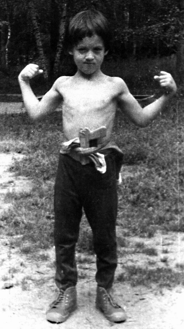 Артур Смольянинов в детстве