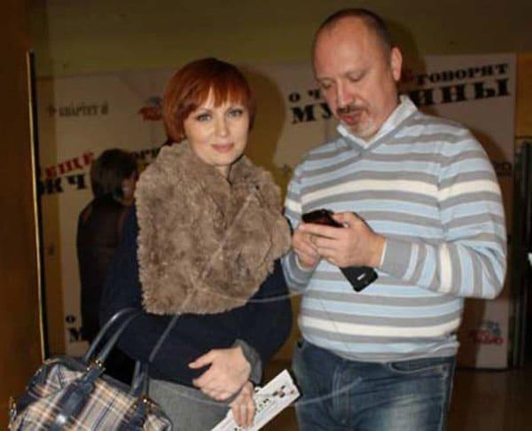 Елена Ксенофонтова с Александром Рыжих