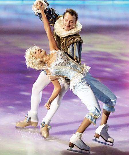 Марат Башаров в шоу «Ледниковый период»