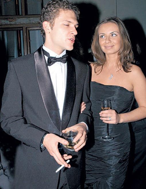 Константин Крюков с женой Евгенией Варшавской
