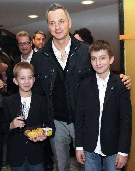 Степан Михалков с сыновьями