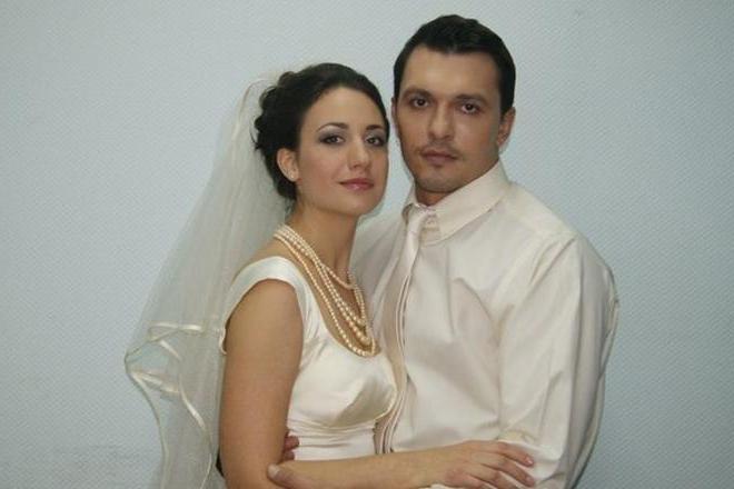 Александр Никитин с Надеждой Бахтиной