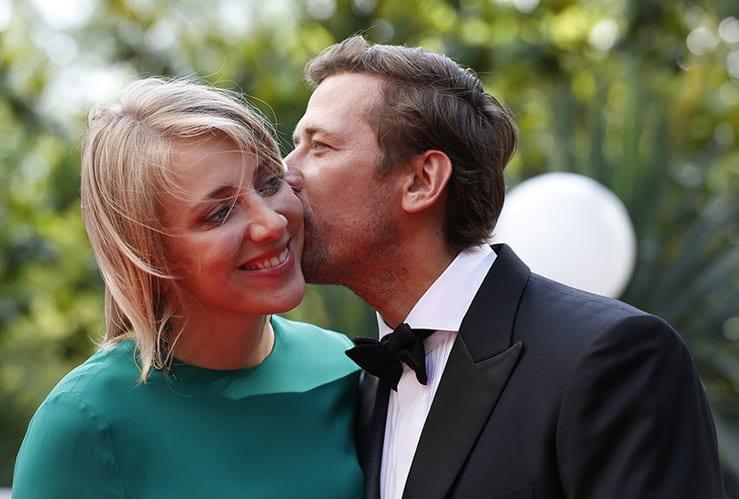 Андрей Мерзликин с женой Анной Осокиной