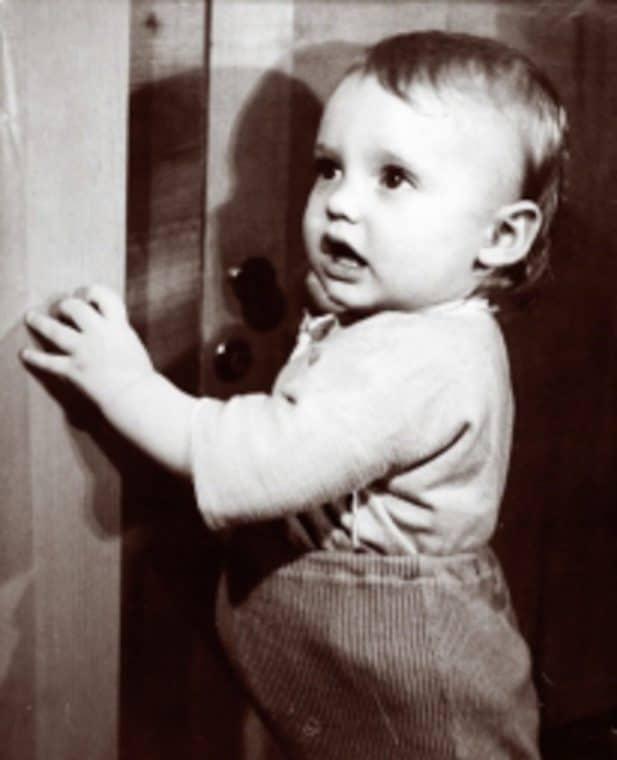 Игорь Лифанов в детстве