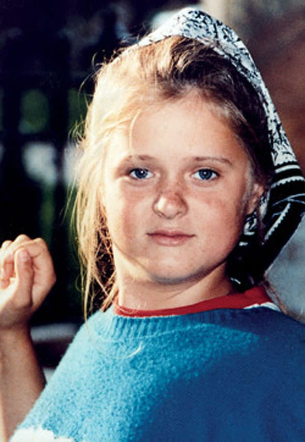 Анна Михалкова в детстве