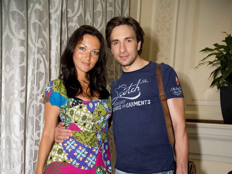 Юлия Такшина с мужем Григорием Антипенко
