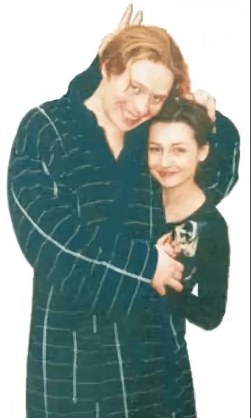 Павел Майков с первой женой Марьяной Березовской