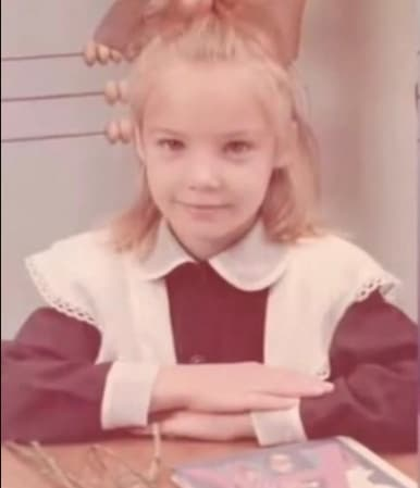 Татьяна Арнтгольц в детстве