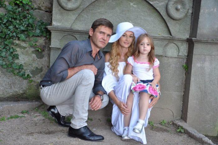 Игорь Лифанов с дочкой