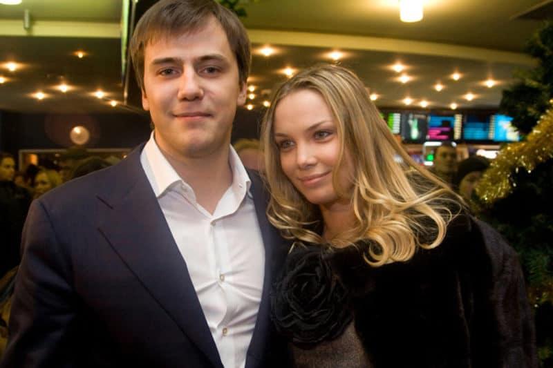Татьяна Арнтгольц с мужем Иваном Жидковым