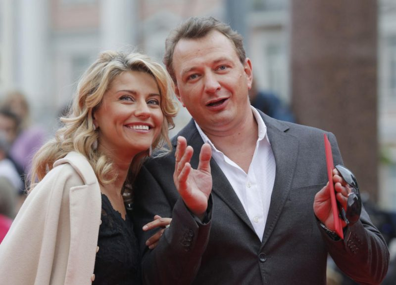 Марат Башаров и его жена Екатерина Архарова