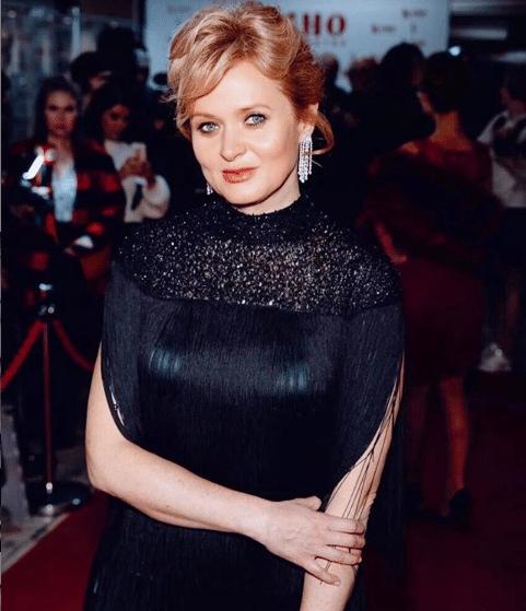 Анна Михалкова в 2019 году