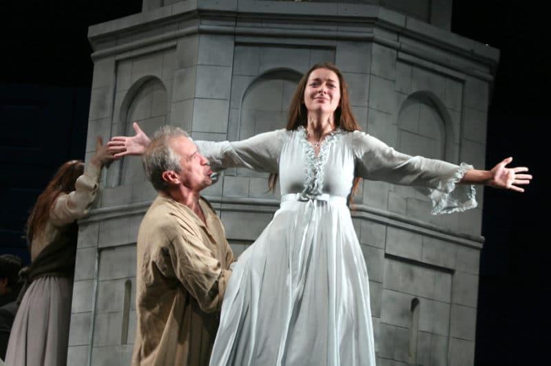Марина Александрова в театре