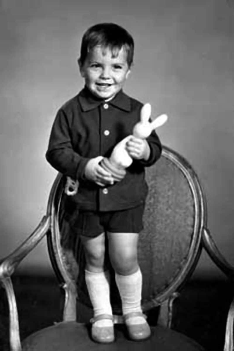 Сергей Астахов в детстве