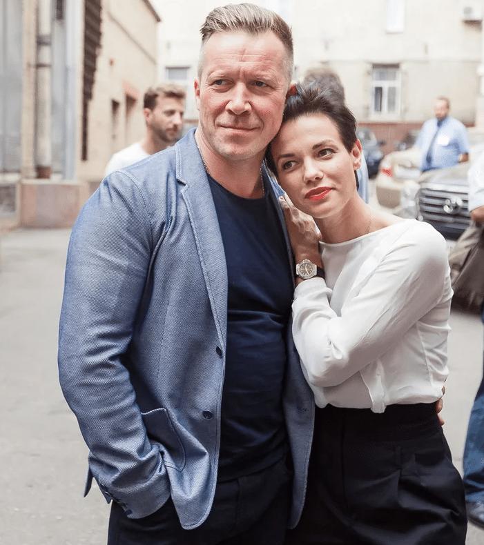 Алексей Кравченко с женой Надеждой Борисовой