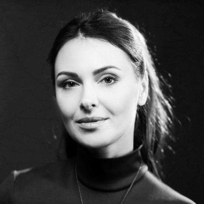 Ольга Фадеева в молодости