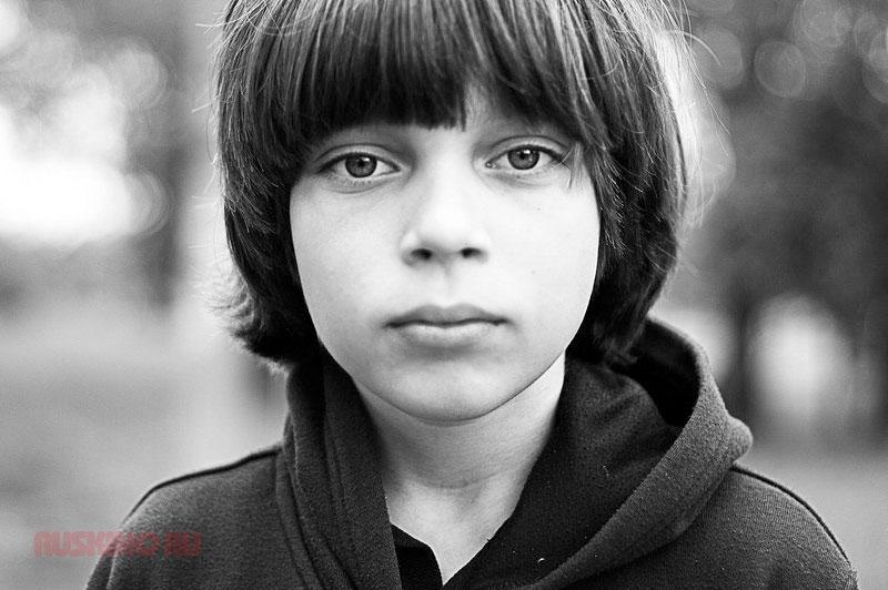 Егор Клинаев в детстве