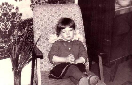 Марина Александрова в детстве