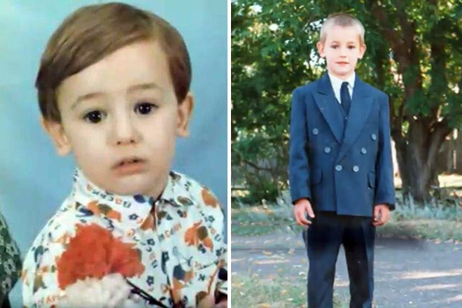 Риналь Мухаметов в детстве
