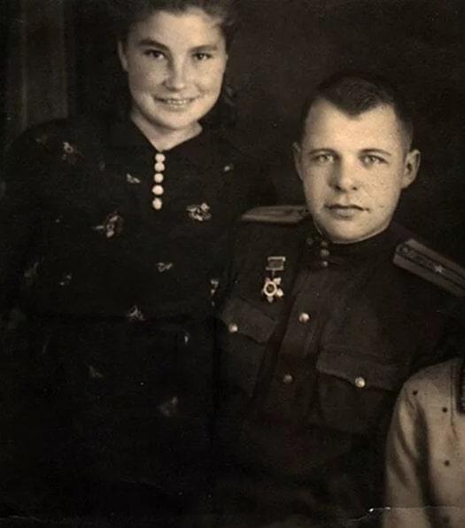 Галина Макарова с первым мужем Иваном Макаровым