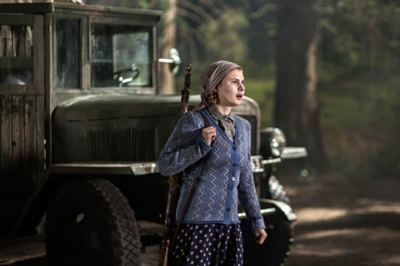 Анна Цуканова в сериале «Комиссарша»