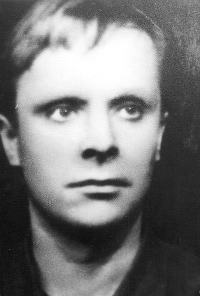 Евгений Самойлов в юности