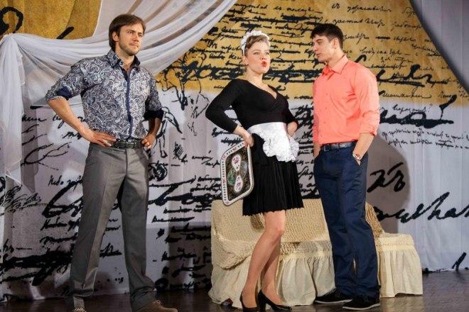Иван Жидков в театре