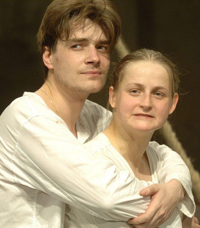 Максим Матвеев и его первая жена Яна Сексте