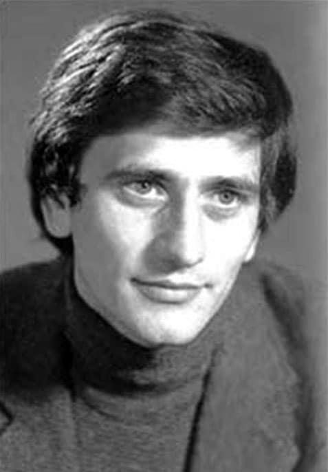 Евгений Князев в молодости
