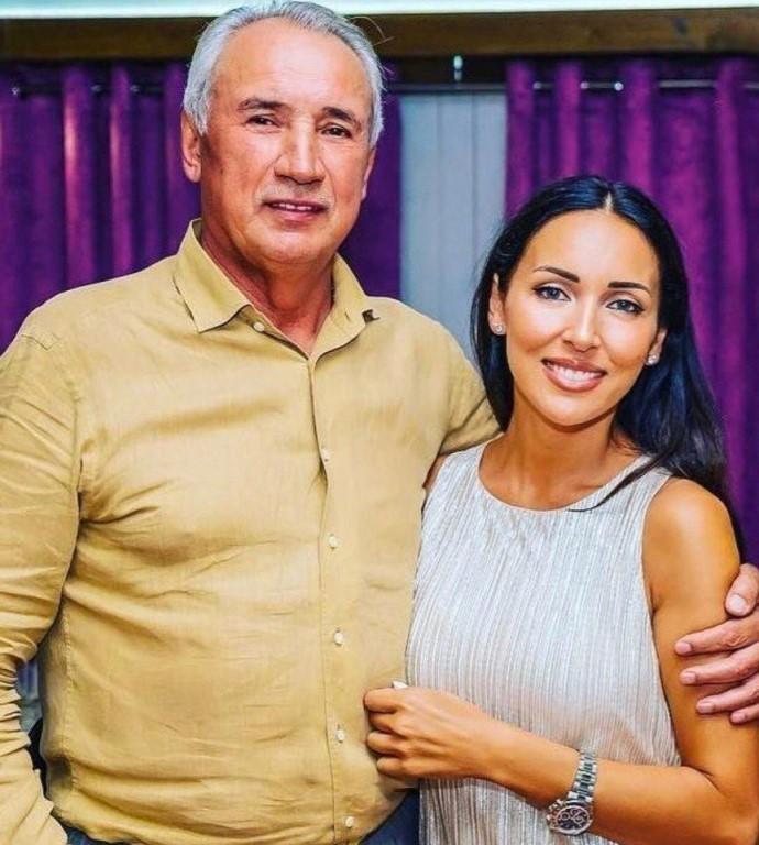 Ралиф Сафин с дочерью Алсу