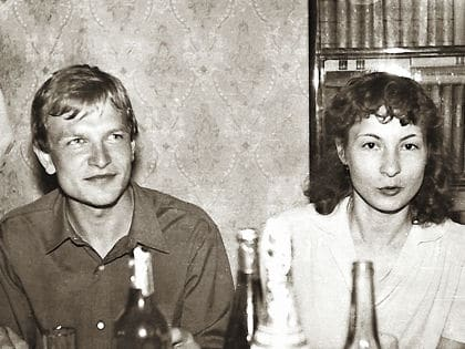 Александр Тютин с женой Татьяной