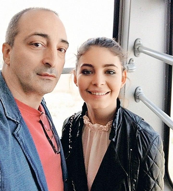 Кирилл Козаков с дочкой