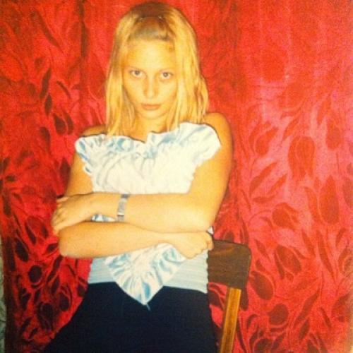 Наталья Рудова в юности