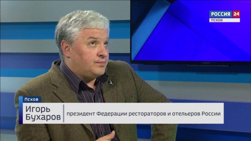Игорь Бухаров на телевидении
