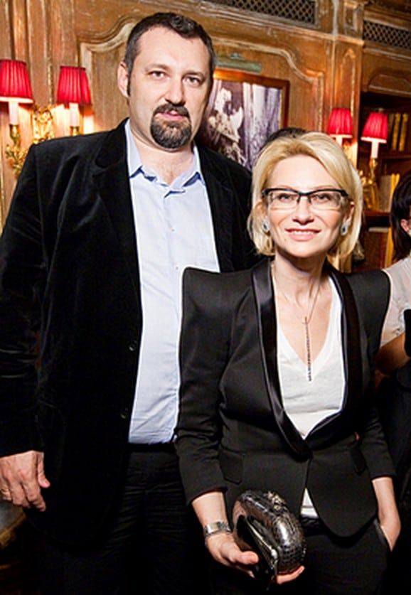 Эвелина Хромченко с первым мужем Александром Шумским