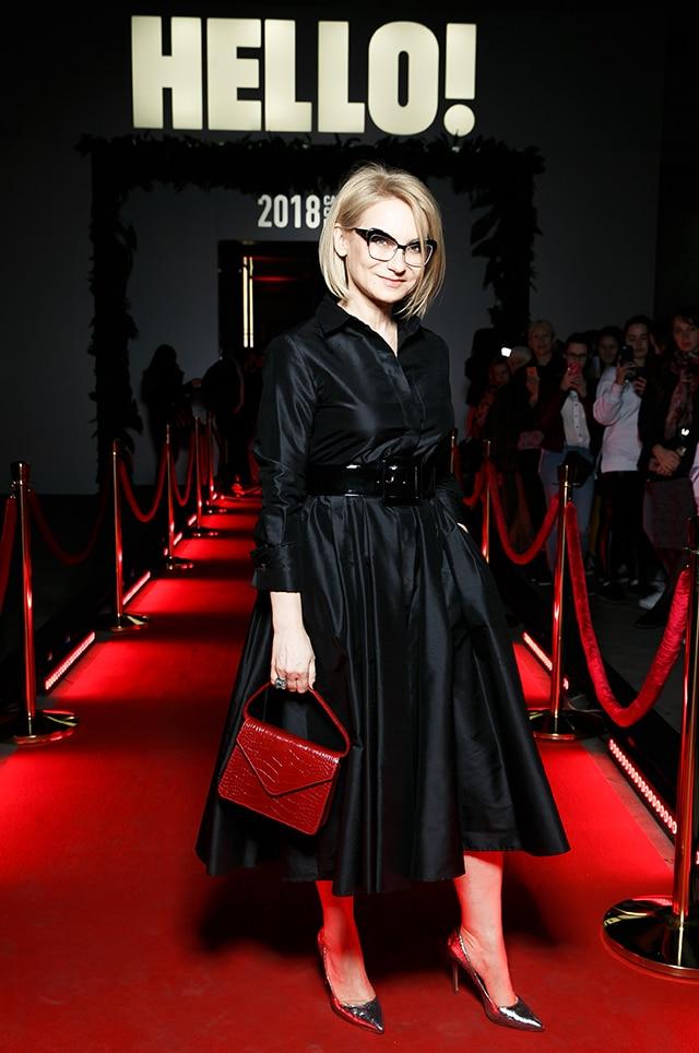 Эвелина Хромченко на выставке моды