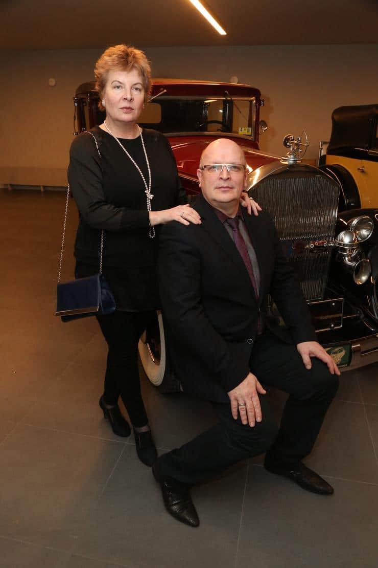 Александр Тютин со второй женой Ириной Каширской
