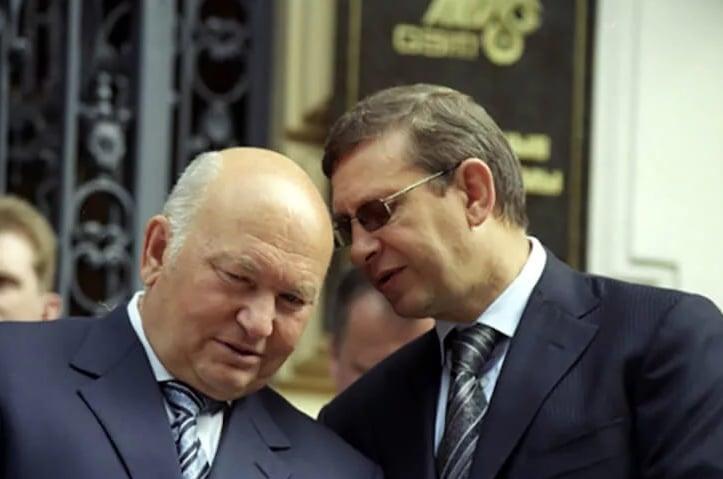 Владимир Евтушенков и Лужков
