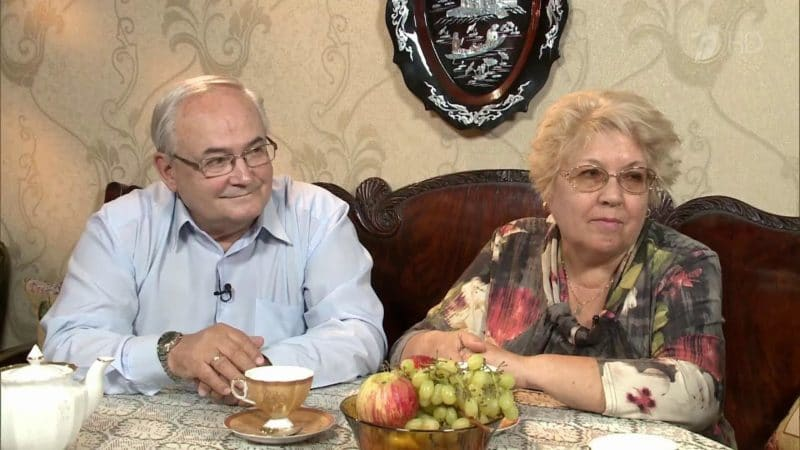 Всеволод Шиловский с третьей женой Натальей Цехановской