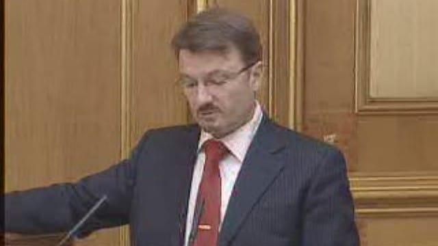 Герман Греф в должности заместителя главы министерства государственного имущества России